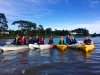 Kayaking with our social club