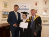 Rebecca at graduations with Insurance APA qualification